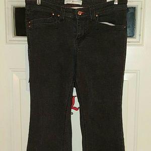 VGUC Tommy Hilfiger black jeans size 10p